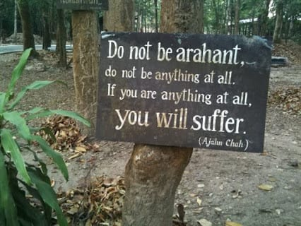 Do not be Arahant